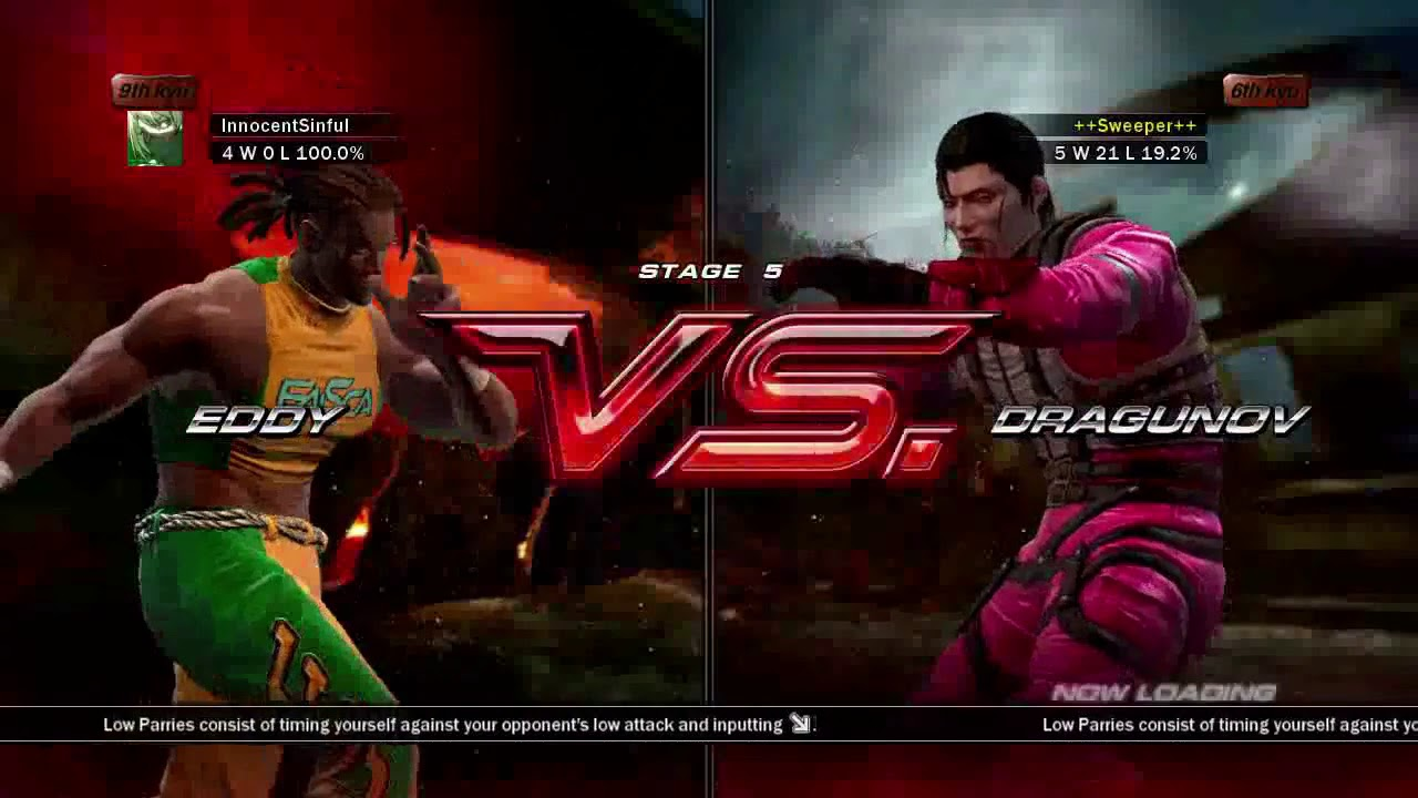 Tekken 6 Xbox 360 Arcade Battle As Eddy Youtube