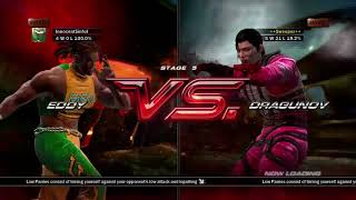 Tekken 6 (Xbox 360) Arcade Battle as Eddy