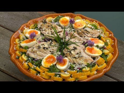 Recette salade de poulet m t o la carte youtube - Recette de meteo a la carte ...