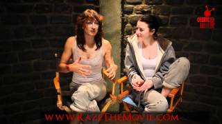 Zoë Bell and Rachel Nichols Fight to the Death!: Raze the movie - Interview