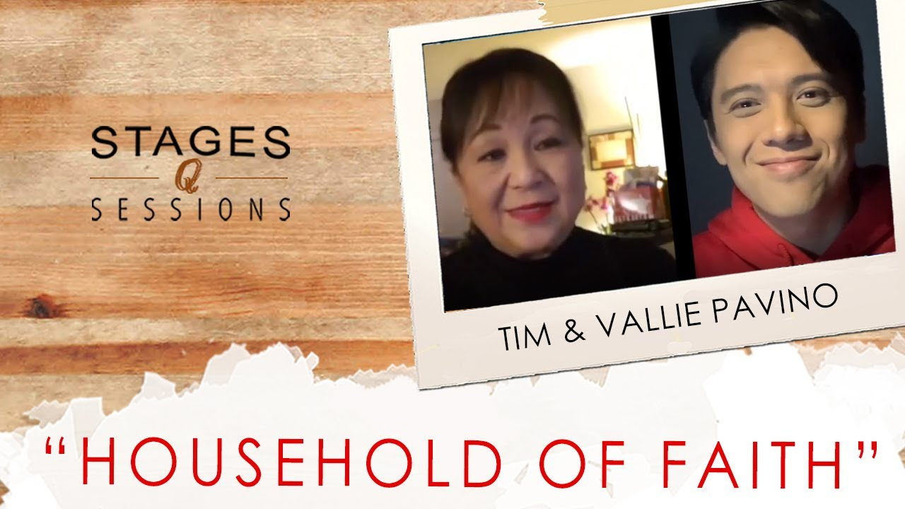 Tim and Vallie Pavino - Household of Faith (a Steve & Marijean Green cover) Live at Stages Sessions