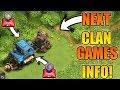 NEXT CLAN GAMES INFORMATION | RUNE OF GOLD & ELIXIR IS COMING?