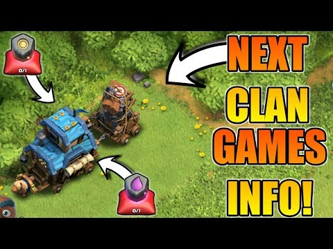 NEXT CLAN GAMES INFORMATION | RUNE OF GOLD & ELIXIR IS COMING?