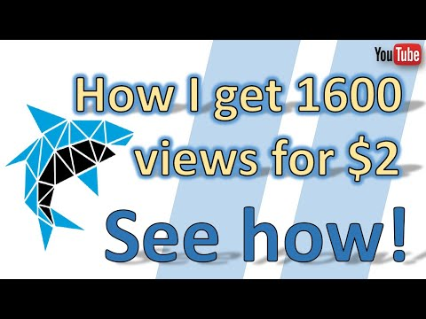 How I Get 1600 Views For $2 [Instant YouTube views]