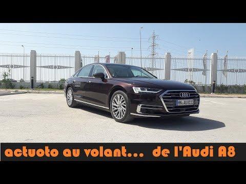 Actuoto: Audi A8... le vaisseau technologique (2018) l'extérieur (1/3) اودي أ8