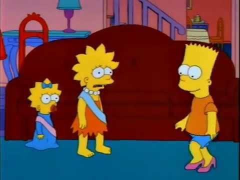 Bart Simpson Tacon Punta