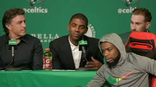KYRIE EXPLAINS WHY HE LEFT LEBRON! COME ON KYRIE WHY DID YOU DO THIS!?