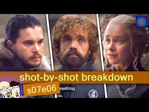 "Game of Thrones s07e07 - ""The Dragon And The Wolf"" - Shot-by-Shot Breakdown/Analysis"