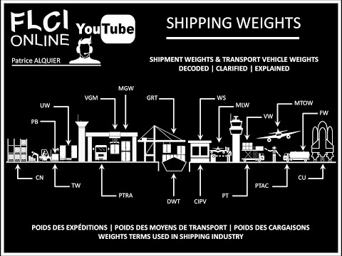 Shipping Weights | Poids des Conteneurs et Véhicules | Containers & Vehicles Weights