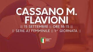 Serie A1 Femminile [1^ giornata]: Cassano Magnago - Flavioni 29-19
