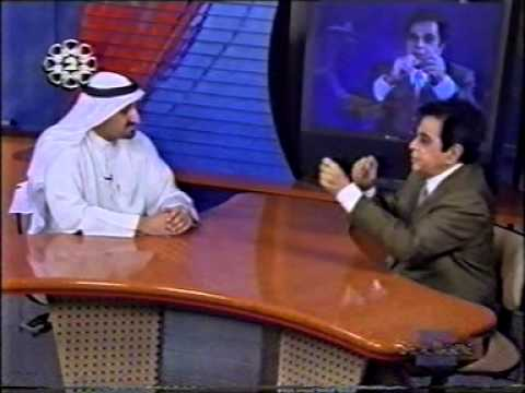 Dilip Kumar - The Greatest Bollywood actor with Ahmad Albaqsami of Kuwait