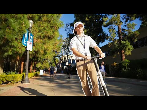 Security Guard Prank At UCLA!