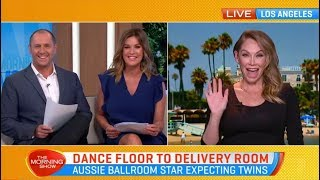 Kym Johnson Herjavec is about to pop - with twins!