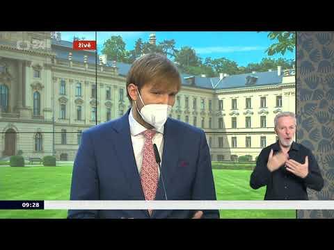 Tiskový brífink po mimořádném jednání vlády