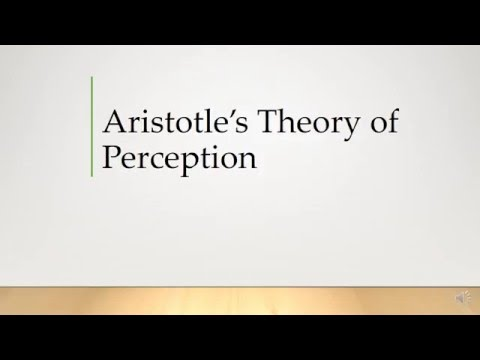 aristotle theory