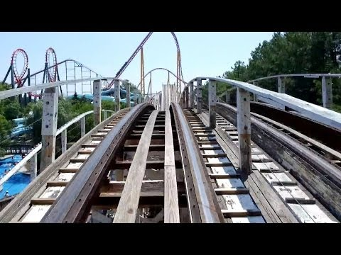 Rebel Yell Front Seat POV 2014 FULL HD Kings Dominion