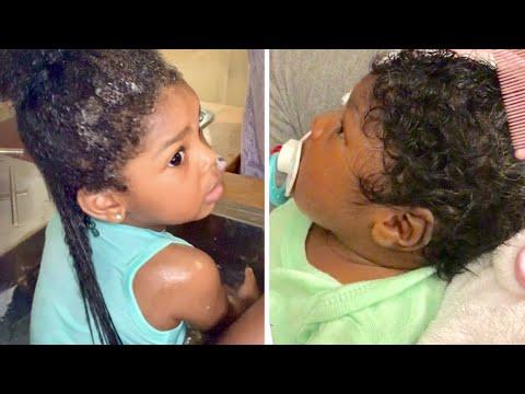 HOW I GREW MY CHILD'S HAIR FAST WITH ALOE VERA