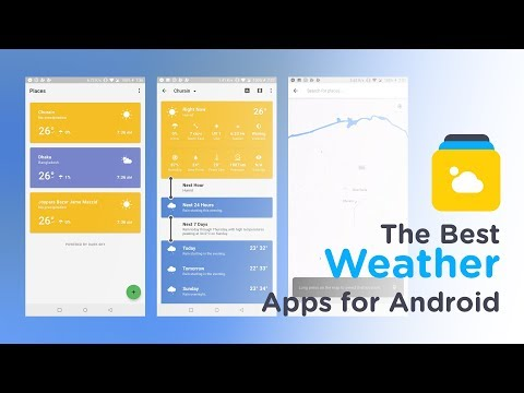The Best Weather Apps For Android 2018