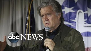 ABC NEWS LIVE: House to vote to hold Steve Bannon in contempt Wednesday