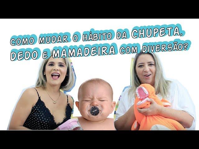 Dra Paulene Cardoso - Como mudar o hábito da chupeta, dedo e mamadeira com diversão?