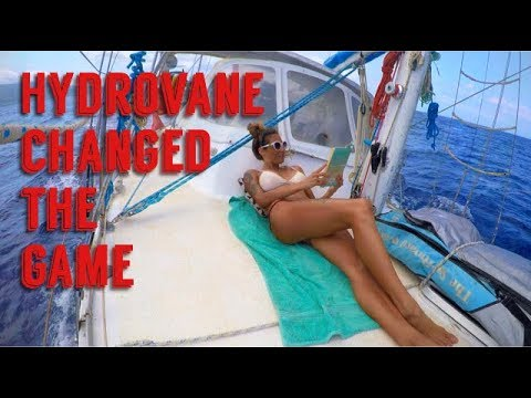 Installing our New Windvane! How GOOD is this!!  Sailing Nandji, Ep 59