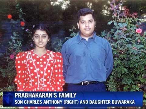 Photos from Tamil leader's Prabhakaran's family album