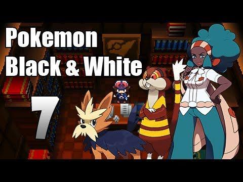 Pokémon Black & White - Episode 7 | Nacrene City Gym!