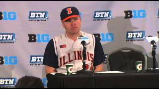 Illinois Baseball Postgame Press Conference Big Ten Tournament Third Round 5/22/15