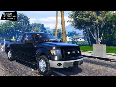 Unmarked 2010 Ford F-150 - GTA V 2160p / 🔥 4K ENB / 60FPS 🔥 _REVIEW
