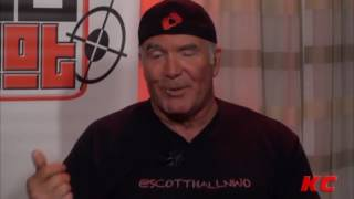 Download Video Scott Hall - Talks Purposely Stirring Shit + Messing with Stevie Richards & Bubba Ray Dudley MP3 3GP MP4