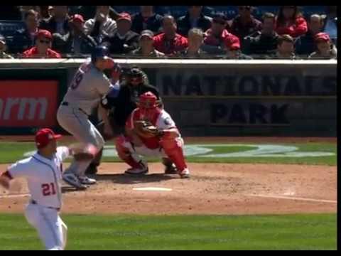 Jay Bruce slugs a grand slam over the right-center-field wall
