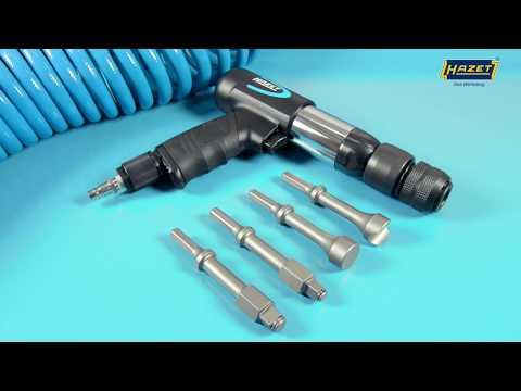 HAZET Kombi-Grundgerät mit Vibrations- und Hammerfunktion 9035VH