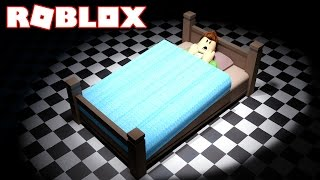 SLEEP on the SCARIEST BED in Roblox!