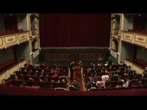 EL FANTASMA MENTIROSO - Teatro Negro / Compañía EL CAU DE L'UNICORN