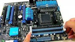 ASUS M5A99FX Pro R2.0 Motherboard Unboxing + Overview + Benchmarks