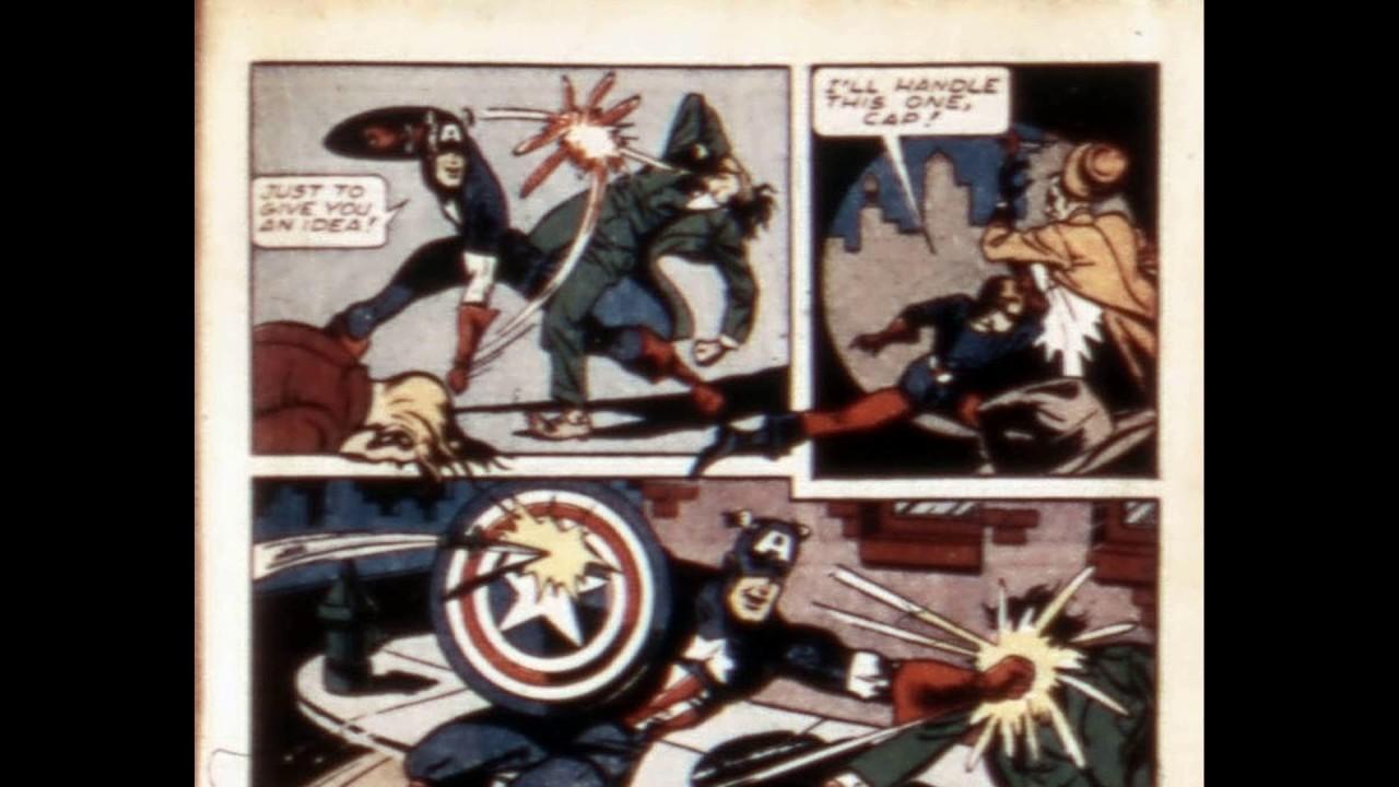 Captain America Comics 056 Darkmetaldcp Comic Book