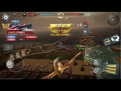 War Wings [iOS] Tomahawk I PREMIUM | T3 Energy Fighter Gameplay