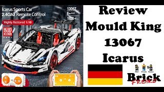 Review Mould King 13067 - Icarus Super Car