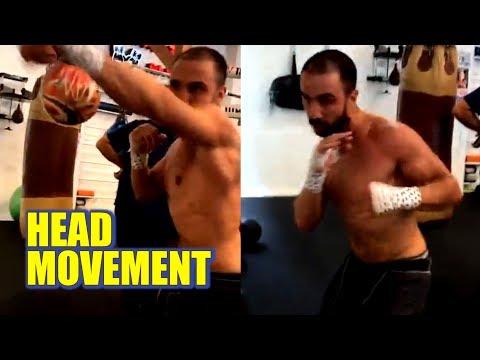 [Video] Paulie Malignaggi working on Maze Bag prior to Bare-Knuckle Fight with MMA's Artem Lobov