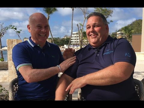 Royalton St  Lucia opening with Sunwing's Andrew Dawson and John Kirk  Travel Pulse Canada