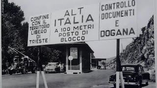 The former border post between Trieste and Italy