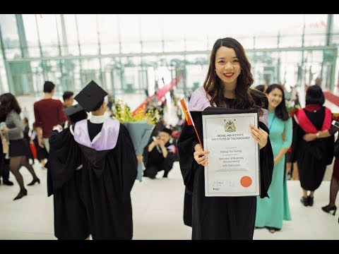 RMIT Vietnam Graduation Ceremony 2017 (Hanoi campus)
