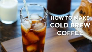 How To Make Cold Brew Coffee (Recipe) 水出し珈琲の作り方(レシピ)