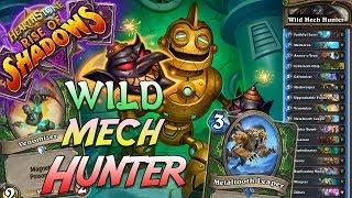Wild Aggro Mech Hunter Deck   Rise of Shadows   Hearthstone