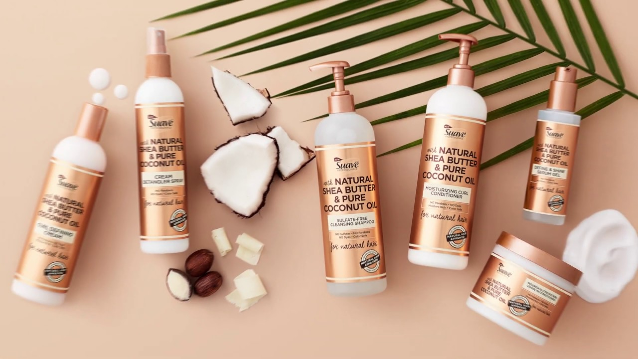 Natural Hair Care Products Suave