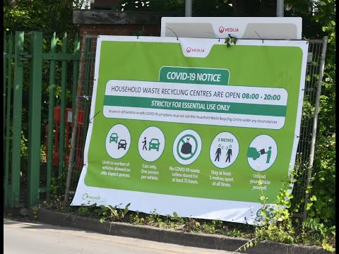 Southport's Household Waste Recycling Centre Re-Opening COVID-19