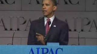 Pro-Israel Highlights of Barack Obama Speech for AIPAC