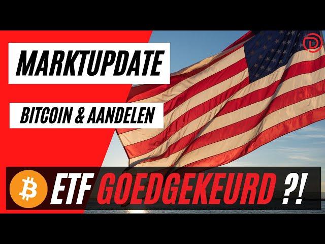 Sec Keurt Bitcoin ETF GOED ??! | Live Koers Update Bitcoin & Aandelen !