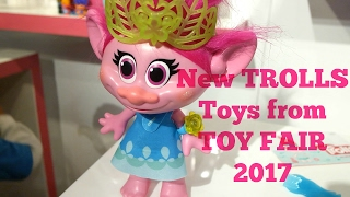 New TROLLS Toys from TOY FAIR 2017