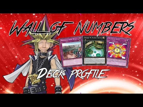 Yu-gi-oh! - Trumps Wall of Numbers Deck Profile